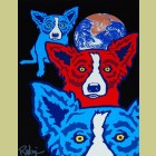 George Rodrigue Between My Good Brothers