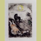Marc Chagall Prophet Killed by a Lion