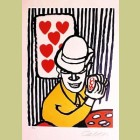Alexander Calder The Card Player