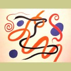 Alexander Calder Swirls and Curls