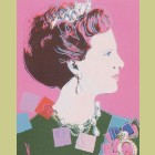 Andy Warhol Queen Margrethe II of Denmark