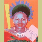 Andy Warhol Queen Ntombi Twala of Swaziland