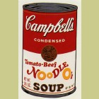 Andy Warhol (after) Tomato Beef Noodle-O's
