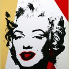 Andy Warhol (after) Golden Marilyn II.37