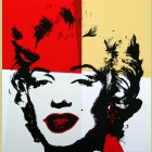 Andy Warhol (after) Golden Marilyn II.38