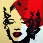 Andy Warhol (after) Golden Marilyn II.42