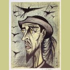 Bernard Buffet Don Quixote