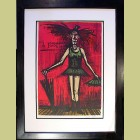 Bernard Buffet Le Travesti, from Mon Cirque