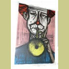 Bernard Buffet Le Clown II, from Mon Cirque