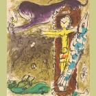 Marc Chagall Christ in the Clock