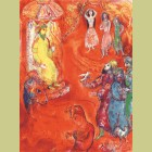Marc Chagall Now the king loved science and geometry..., from Arabian Nights