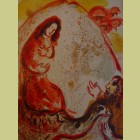 Marc Chagall Rachel Hides Her Father's Household Goods