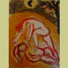 Marc Chagall Cain and Abel