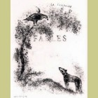 Marc Chagall Cover from Les Fables de la Fontaine, Volume I