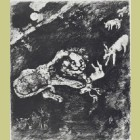 Marc Chagall The Heifer, the Goat, and the Ewe with the Lion, from Les Fables de la Fontaine, Volume II