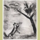 Marc Chagall The Rooster and the Fox, from Les Fables de la Fontaine, Volume I