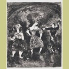 Marc Chagall The Testament Explained to Esope, from Les Fables de la Fontaine, Volume I