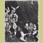 Marc Chagall The Satry and the Passerby, from Les Fables de la Fontaine, Volume II