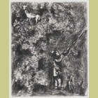 Marc Chagall The Stag and the Vine, from Les Fables de la Fontaine, Volume II