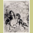 Marc Chagall The Fox and the Stork, from Les Fables de la Fontaine, Volume I