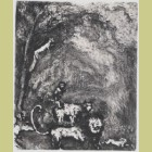 Marc Chagall The Lion Going to War, from Les Fables de la Fontaine, Volume II