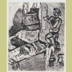 Marc Chagall The Villager and the Snack, from Les Fables de la Fontaine, Volume II