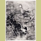 Marc Chagall The Rooster and the Pearl, from Les Fables de la Fontaine, Volume I
