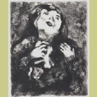 Marc Chagall The Young Widow, from Les Fables de la Fontaine, Volume II