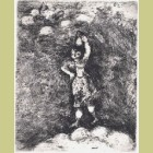 Marc Chagall The Dairywoman and the Jar of Milk, from Les Fables de la Fontaine, Volume II