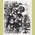 Marc Chagall The Mender and the Financier, from Les Fables de la Fontaine, Volume II