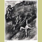 Marc Chagall The Children and the Schoolmaster, from Les Fables de la Fontaine, Volume I