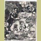 Marc Chagall The Cheerful and the Fishes, from Les Fables de la Fontaine, Volume II