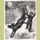 Marc Chagall The Donkey and the Dog, from Les Fables de la Fontaine, Volume II