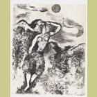 Marc Chagall The Mouse Metamorphoses to a Girl, from Les Fables de la Fontaine, Volume II