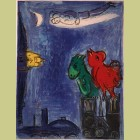 Marc Chagall The Monsters of Notre Dame