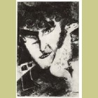 Marc Chagall Auto-Portrait Avce Chèvre (Self-Portrait with Goat)
