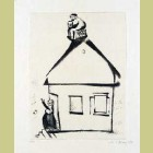 Marc Chagall The House of Grandfather, from Mein Leiben