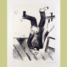 Marc Chagall At the Easel, from Mein Leiben