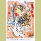 Marc Chagall Tribute to the Eiffel Tower