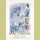 Marc Chagall (after) The Magician of Paris