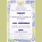 Marc Chagall (after) Poster for Concerts
