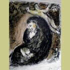 Marc Chagall The Prophet and the Angel