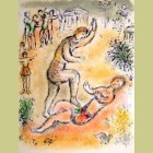 Marc Chagall Combat Between Ulysses and Irus