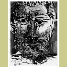Pablo Picasso Tete d'Homme Barbu (Head of a bearded man)