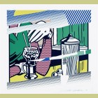 Roy Lichtenstein Refections on Soda Fountain