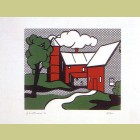 Roy Lichtenstein Red Barn