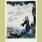 Marc Chagall Moses Saved from the Water
