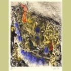 Marc Chagall Moses Striking Water from the Rock