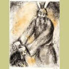 Marc Chagall Moses' Blessing Over Joshua