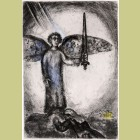 Marc Chagall Joshua Before the Angel With the Sword